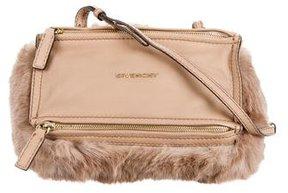 Givenchy Fur Mini Pandora Bag