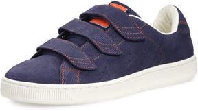Puma Men's Basket Corduroy Low-Top Sneaker, Navy