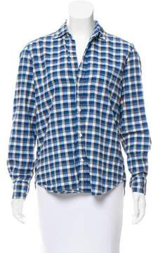 Frank And Eileen Plaid Long Sleeve Top
