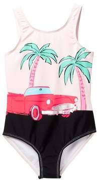 Kate Spade Road Trip One-Piece Swimsuit (Big Girls)