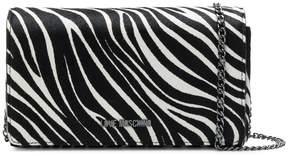 Love Moschino zebra print crossbody