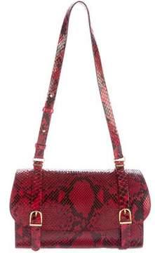 Trussardi Python Shoulder Bag
