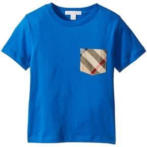 Burberry Short Sleeve YNG Tee Boy's Clothing
