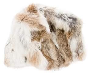 Adrienne Landau Fur Knit Beanie