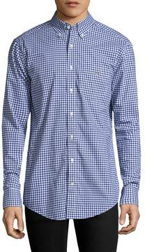 Gant Men's Plaid Cotton Sportshirt