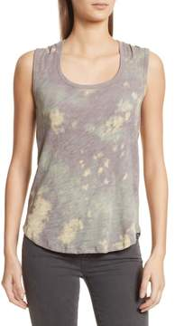 ATM Anthony Thomas Melillo Sweetheart Tie Dye Tank