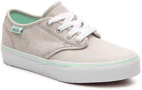 Vans Girls Camden Stripe Toddler & Youth Sneaker
