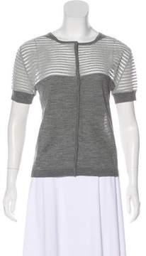 Timo Weiland Wool Short Sleeve Cardigan w/ Tags