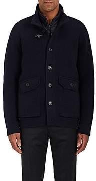 Fay Men's Layered Wool Sweater Jacket