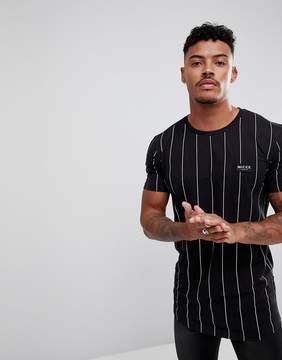 Nicce London Striped T-Shirt