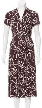 David Meister Knit Midi Dress