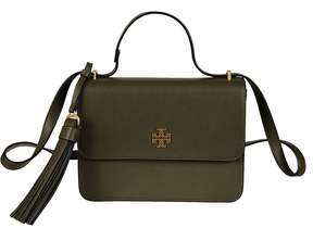 Tory Burch Brooke Shoulder Bag - OLIVE GREEN - STYLE