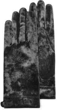 Forzieri Women's Black Chenille Gloves