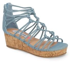 Steve Madden Girl's Wistfull Wedge Sandal