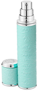 Creed Pocket Atomizer in Turquoise Leather with Silver Trim