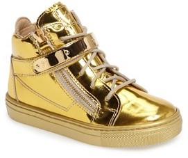 Giuseppe Zanotti Toddler Girl's High Top Sneaker