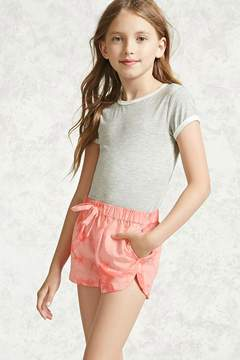 Forever 21 Girls Tie-Dye Shorts (Kids)