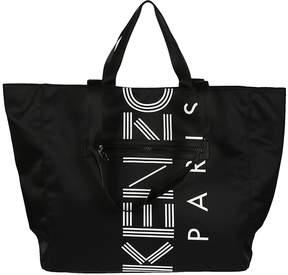 Kenzo Logo Print Tote