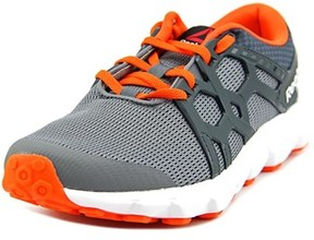 Reebok Hexaffect Run Youth Round Toe Synthetic Gray Sneakers.