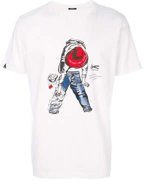 Denham Jeans graphic print T-shirt