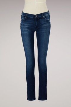 7 For All Mankind Skinny trousers with studs