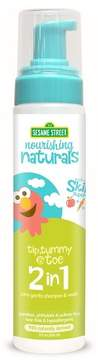 Sesame Street Nourishing Naturals Foaming 2-in-1 Shampoo & Wash - 8oz