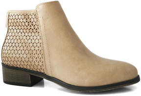 Bamboo Stone Saber Ankle Boot - Women