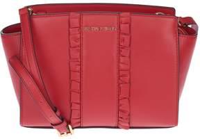 Michael Kors Medium Selma Shoulder Bag - RED - STYLE