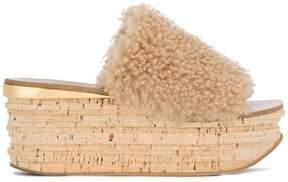 Chloé Camille flatform sandals