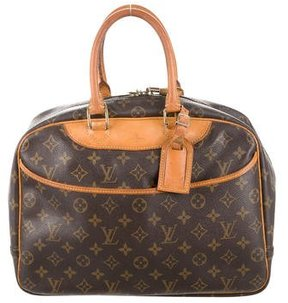 Louis Vuitton Monogram Deauville Tote - BROWN - STYLE