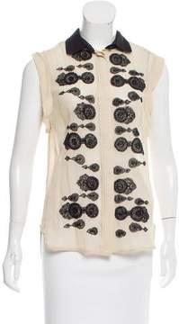 DAY Birger et Mikkelsen Embellished Sleeveless Top