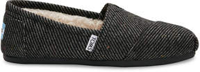Toms Black and White Wool Women's Classics