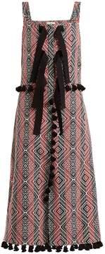 Altuzarra Villette diamond-jacquard dress