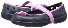 Crocs Keeley Petal Charm Flat (Toddler/Little Kid)