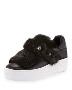Ash Djin Embellished Grip Platform Sneakers