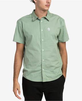 RVCA Men's Stress Button-Up Shirt