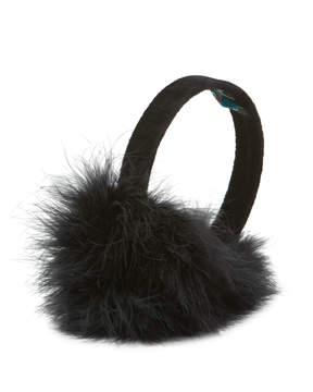 Jocelyn Feather Earmuffs