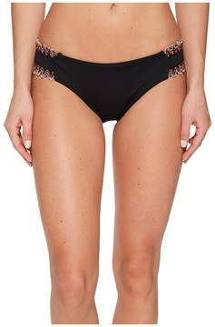 Becca by Rebecca Virtue Mardi Gras Tab Side American Fit Pant Bottoms Women's Swimwear