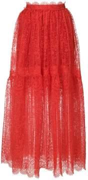 Ermanno Scervino lace maxi skirt