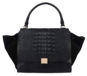 Celine Crocodile Medium Trapeze Bag