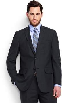 Lands' End Lands'end Men's Short Traditional Fit Wool Year'rounder Suit Jacket