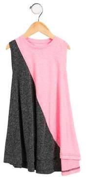 Nununu Girls' Two-Tone Dress