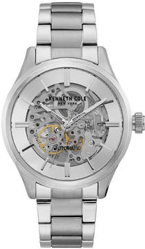 Kenneth Cole New York Men's Automatic Stainless Steel Bracelet Watch 44mm