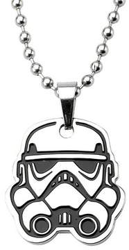 Star Wars Men's Stormtrooper Cut Out Stainless Steel Pendant (18)