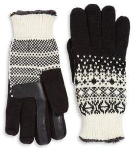 Isotoner Fairisle Gloves