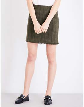 Claudie Pierlot Sand tweed mini skirt