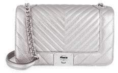 Karl Lagerfeld Lara Metallic Shoulder Bag