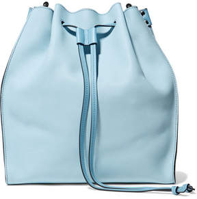 J.W.Anderson Leather Bucket Bag - Light blue