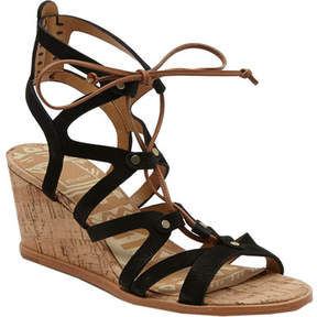 Dolce Vita Lynnie Ghillie Lace Wedge Sandal (Women's)