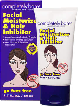 Completely Bare Go Fuzz Free Facial Moisturizer & Hair Inhibitor